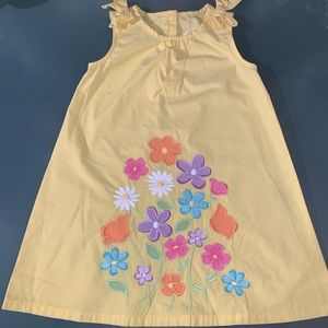 Gymboree Butterfly Blossom Yellow Dress Floral